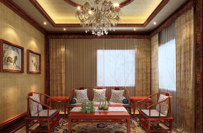 客厅窗帘什么颜色好看?