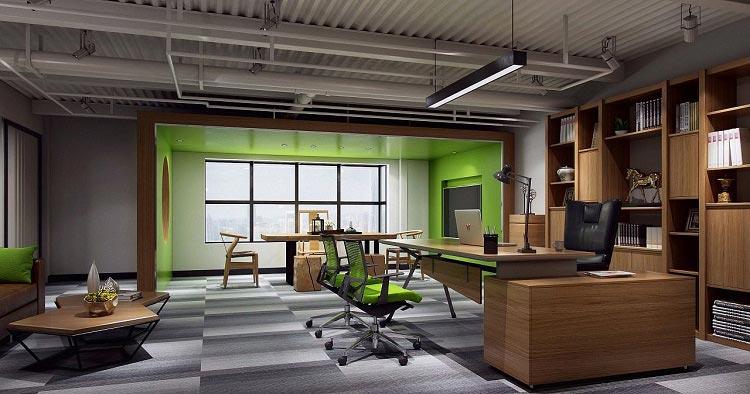 办公室前台设计要点及财务办公室装修注意事项