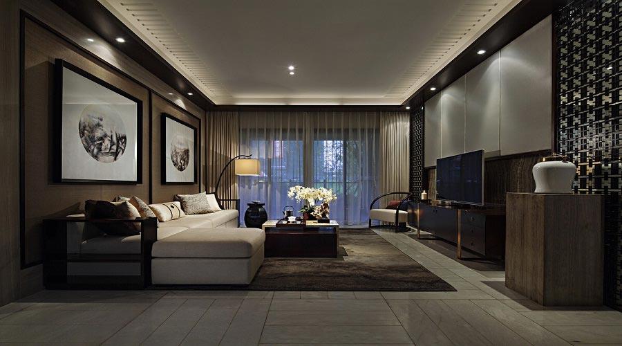 2m 设计理念 :新中式风格设计,把中国传统风格文化与现代时尚元素的